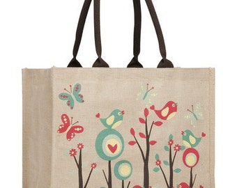Patterned Juco Shopping Bag (3 Designs)