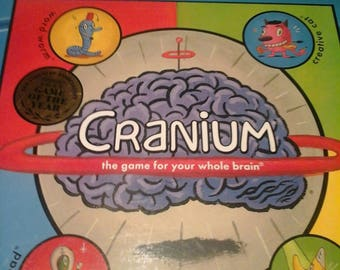 Vintage Cranium the game for the whole brain,Complete
