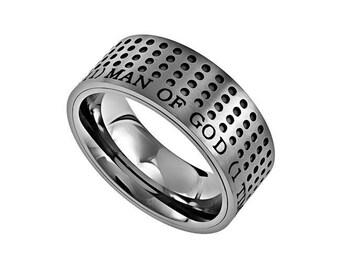 "Sport Ring ""Man Of God"""