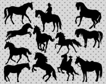 Horse silhouette svg, Horse svg, Silhouette svg, Cowboy svg, Horse cricut, Horse silhouette cricut, Silhouette cricut, Cowboy cricut