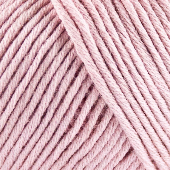 STRIKDET Organic Cotton - light rose / Økologisk Bomuld - lys rosa