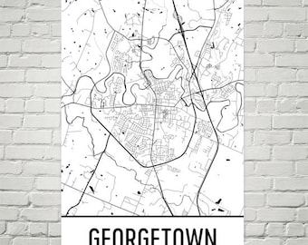 Map of kentucky etsy georgetown map georgetown art georgetown print georgetown ky poster georgetown wall art publicscrutiny Images