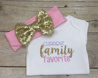 Current Family Favorite, Hospital Gift, Baby Girl, Carters Bodysuit