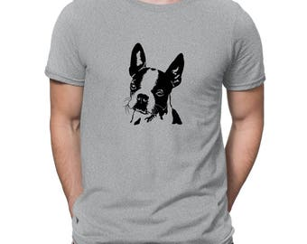 Boston Terrier FACE SPECIAL GRAPHIC T-Shirt