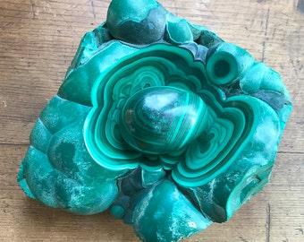 Malachite décorative item