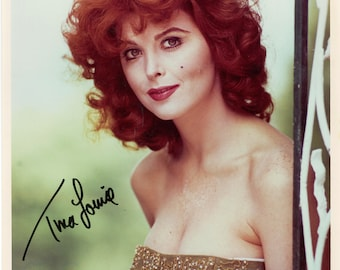 Gilligan's Island  Tina Louise as Ginger Grant  Autogrpahed vintage 8x10 photo