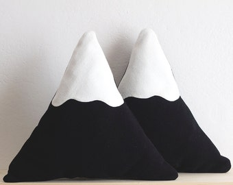 Snowy Mountain Pillow || BIG
