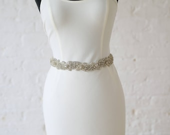 "Jaxie ""Ivy"" Bridal Belt"