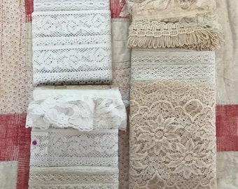 White lace bundle
