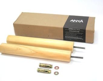 LEVITA // wood bike rack/Bike hanger/ Bicycle storage/Bike holder/Bike mount/Bike stand/Wall rack/Minimalist/Wood/Bike hook/Interior design