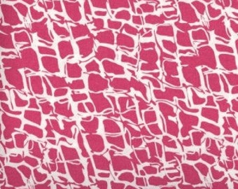 Shocking Pink Cheetah --- Animal Print Fabric ---- Fabric By The Yard --- He Said She Said