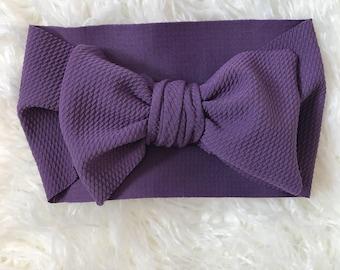 Dark purple stretch wrap