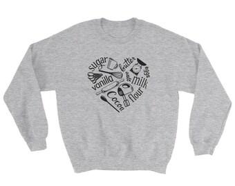 I Love Baking Sweatshirt