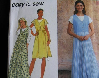 Simplicity Misses Womens Jumper and Knit Top Sewing Pattern 7176 Size 12 14 16 UC FF Uncut