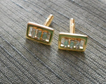 Vintage cuff links.  Mens jewelry.