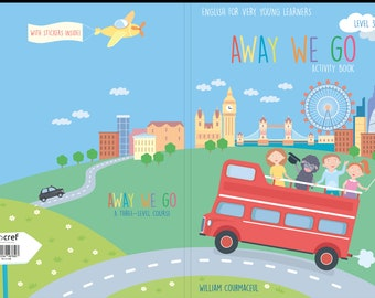 AWAY WE GO 3-English method for children from 3 years old