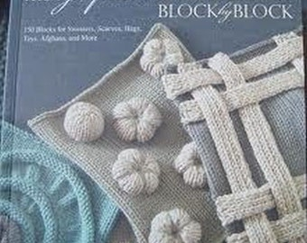 Knitting Block by Block by Nicky Epstein (2010, Hardcover) Like New