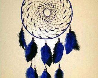 "Dreamcatcher 10 ""-Blue & Black Night, JAIAWEL Handmade Crafts 25."