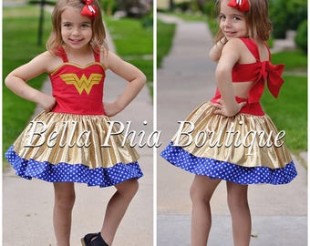 Wonder Woman Poppy Dress