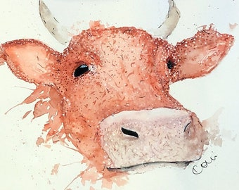 The Orange Cow
