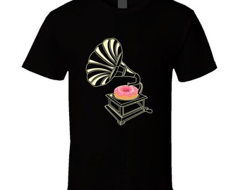 Gramophone Donut T Shirt