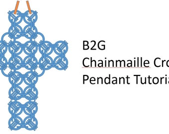 B2G Chainmaille Cross Pendant Tutorial