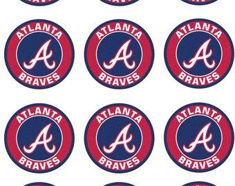 Baseball Team Edible Image Cupcake Toppers