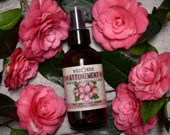 Face Wash ATTUNEMENT - Nourishing Facial Cleanser with Carrot & Rose Geranium - 120ml // 4oz