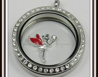 Fairy Floating Charm for Glass locket / Floating Locket / Memory Locket