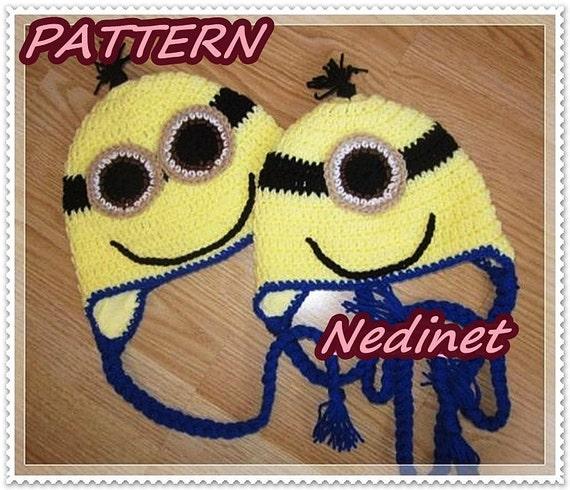 Crochet Minion Pattern Minions Inspirated Crochet Hat
