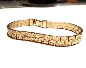 80's Gold Tone Bracelet
