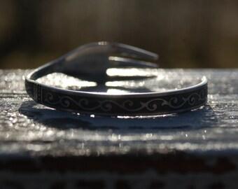 tribal fork bracelet