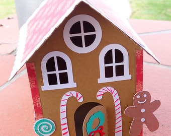 3D Christmas gingerbread house