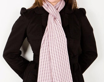 Lilac Scarf, Ladies Accessories, Casual Scarf, Cotton Scarf, Birthday Gift, Neck Warmer, Ladies Scarf, Women's Scarf, Squares Scarf 82