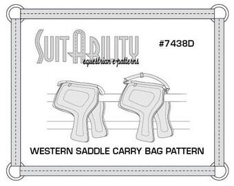 PDF Western Saddle Carry Bag Pattern