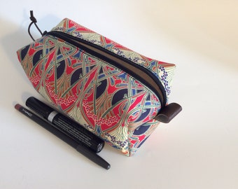 Makeup bag Liberty of London, lined with waterproof vinyl, cosmetic bag, storage