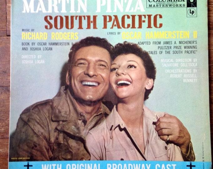 1957 South Pacific, Original Broadway Cast Record Album EZ-10. VG+/NM. Columbia Masterworks