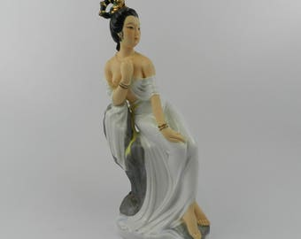 Figure Chinese Lady with mark