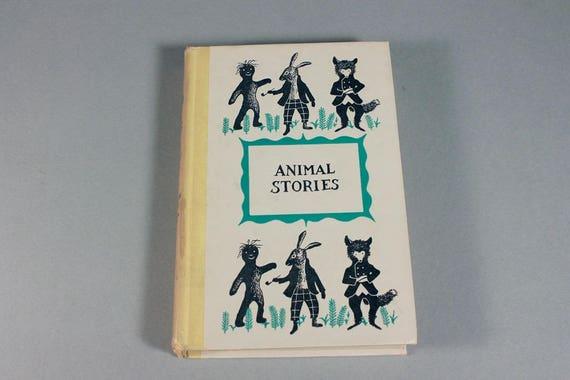 1954 Children's Hardcover Book, Animal Stories, Joel Chandler Harris, First Edition, Children's Fiction, Children's Stories