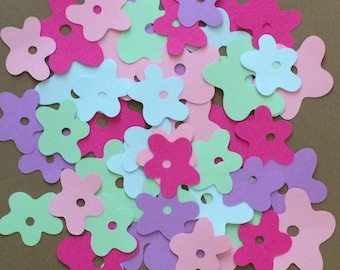 50 Flower Die Cuts for Paper Crafts Cards Scrapbooks Party Set 29