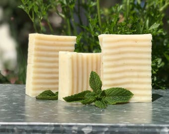Peppermint Oatmeal Soap