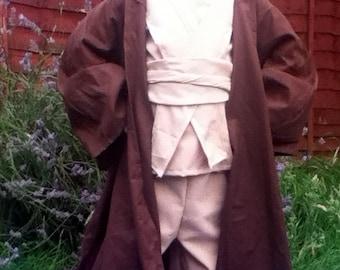 Obi Wan Kenobi Robe - Handmade In Any Size Kids Jedi robes Star Wars Costumes
