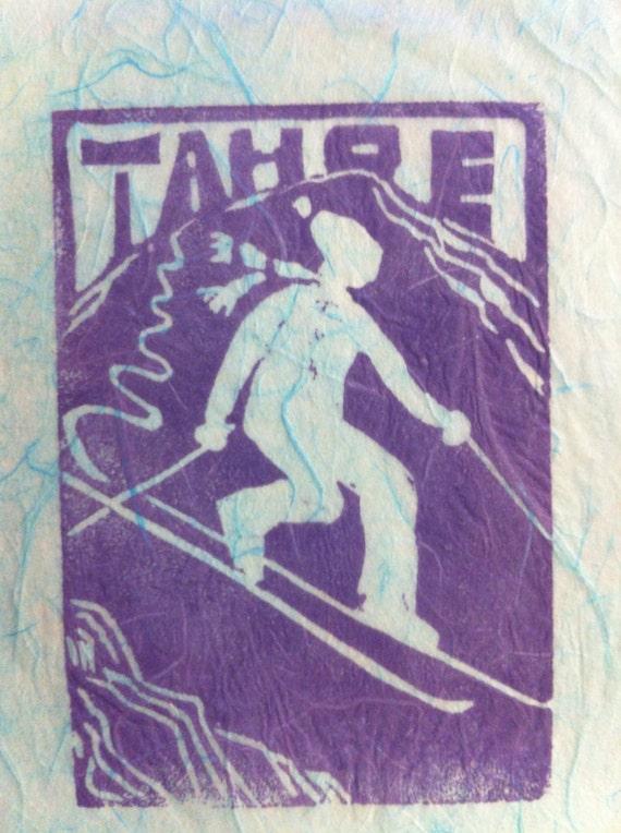 Tahoe Tele Skier