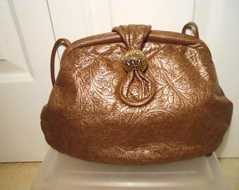 Vintage Park Avenue Int. leather bag