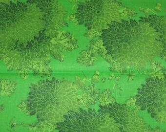 Coupe de tissu Fat Quarter 1 - soldes tissu fat quarter, coupon de coton, fat quarter de tissu adipeux, vert