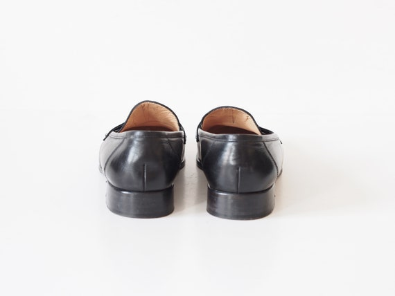 RL classic 8 leather loafers loafers with 39 leather moccasins buckle loafers Lauren Vintage US Ralp size UK monogram 6 c0q8vcf