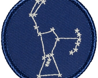 Orion Patch (567) 2 Inch Diameter Embroidered Patch