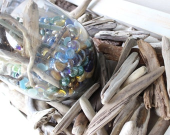 Natural Rustic Driftwood Nuggets to Scatter for Beach Decoration ,  Vase Filler & craft supplies  DN58