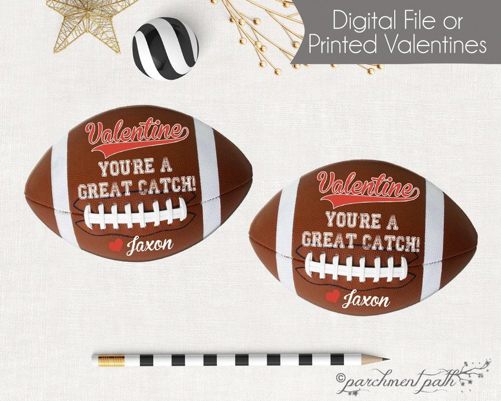 zoom - Football Valentine Cards