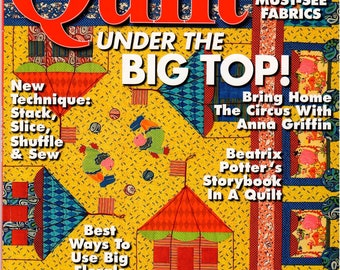 Quilt Magazine - June/July 2007 - #79